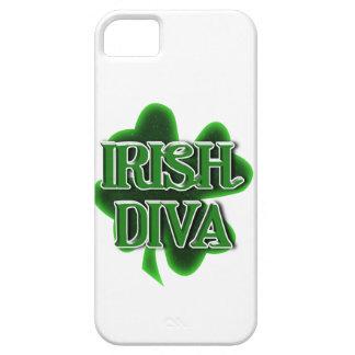 Trébol del día de St Patrick IRLANDÉS de la DIVA iPhone 5 Fundas