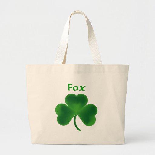 Trébol del Fox Bolsas De Mano