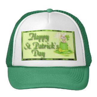 Trébol del gorra del ratón del día del St Patricks