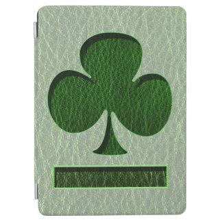 Trébol del irlandés de la Cuero-Mirada Cover De iPad Air
