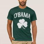 Trébol del irlandés de Obama Playera