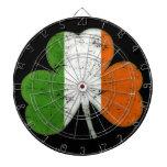 Trébol del irlandés del vintage tablero de dardos