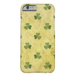 Trébol del St Patty Funda Para iPhone 6 Barely There