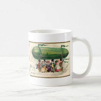 Trébol del vintage taza
