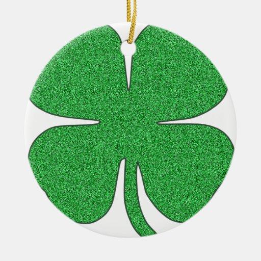 Trébol, el día de St Patrick, trébol Adorno De Navidad