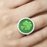 Trébol irlandés #1 anillos