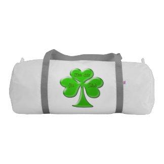 Trébol irlandés #1 bolsa de deporte