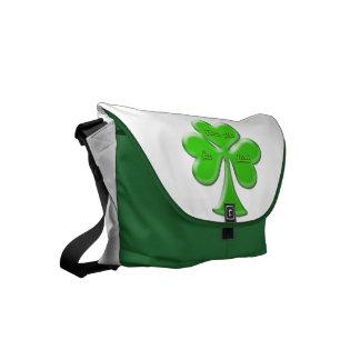 Trébol irlandés #1 bolsa de mensajeria
