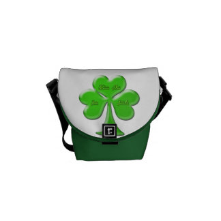 Trébol irlandés #1 bolsas de mensajería