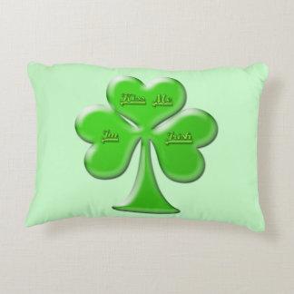 Trébol irlandés #1 cojín decorativo