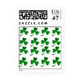 Trébol irlandés 1sm sello
