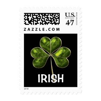 Trébol irlandés 2a-sm estampillas
