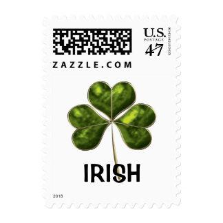 Trébol irlandés 2c-sm sellos