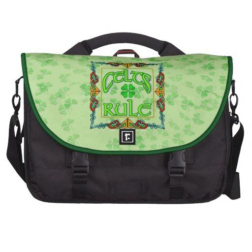 Trébol irlandés bolsas para portatil