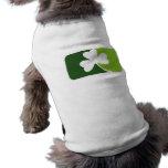 Trébol irlandés camisa de perro