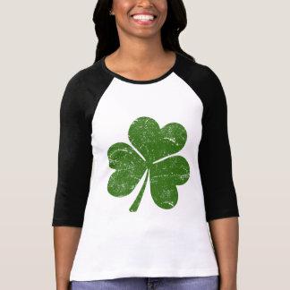 Trébol irlandés clásico camisetas
