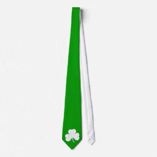 Trébol irlandés corbata personalizada