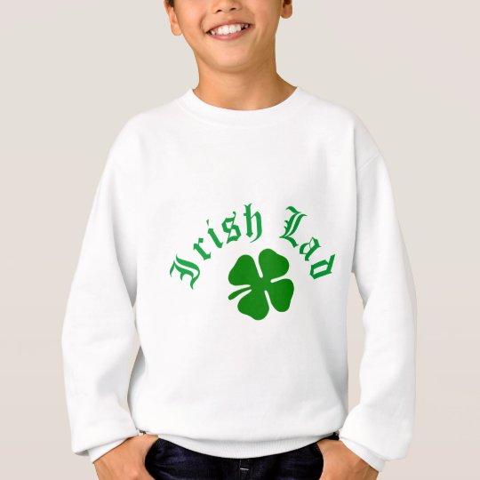 Trébol irlandés del chaval sudadera