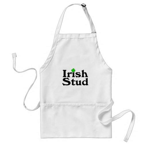 Trébol irlandés del perno prisionero delantal