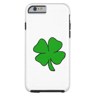 Trébol irlandés funda para iPhone 6 tough
