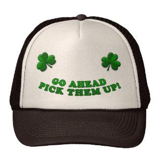Trébol irlandés gorro