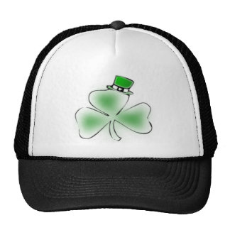 Trébol irlandés gorras de camionero