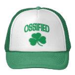 Trébol irlandés osificado gorra