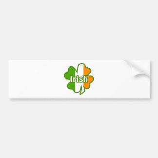 Trébol irlandés pegatina para auto
