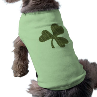 Trébol irlandés camisa de mascota