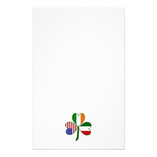 Trébol italiano papeleria de diseño