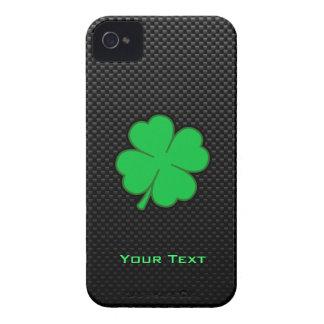 Trébol liso iPhone 4 carcasas