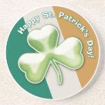 Trébol misterioso: ¡El día de St Patrick feliz! -  Posavasos Cerveza