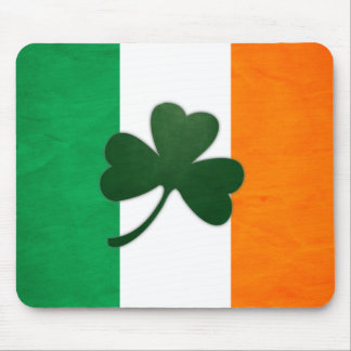 Trébol Mousepad de Irlanda Tapetes De Ratones