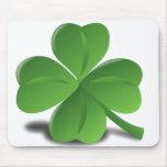 Trébol Mousepad del trébol del día de St Patrick