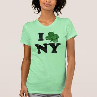 Trébol NY, camiseta divertida del día del St. Patr