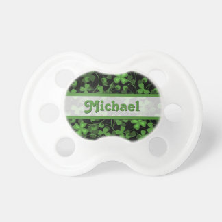 Trébol personalizado chupete de bebé
