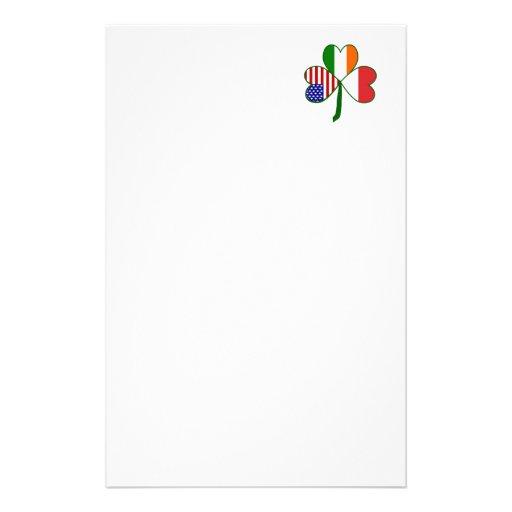 Trébol polaco papelería de diseño