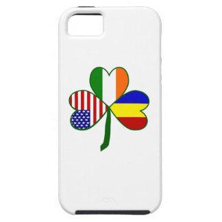 Trébol rumano iPhone 5 Case-Mate coberturas