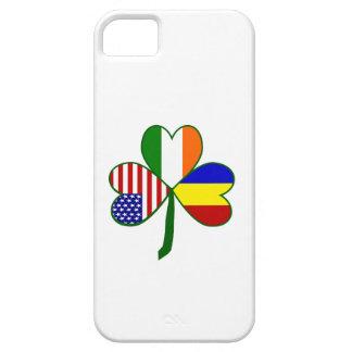 Trébol rumano iPhone 5 Case-Mate cárcasas