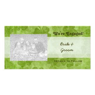 Trébol somos tarjetas dedicadas de la foto tarjeta personal con foto