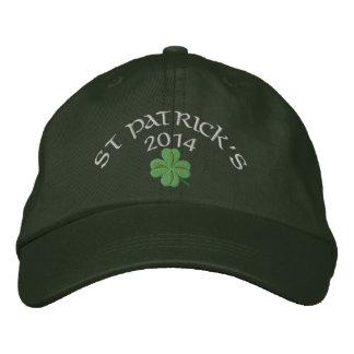 Trébol St Patrick irlandés Gorra De Béisbol Bordada