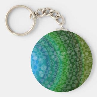 Trébol translúcido del diseño del arco iris de los llavero redondo tipo pin