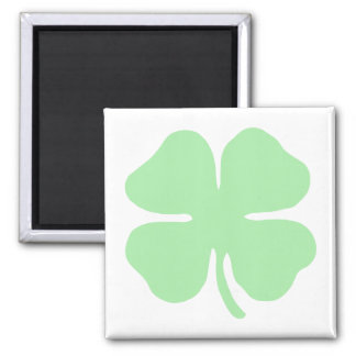 trébol verde claro shamrock png de 4 hojas imanes para frigoríficos