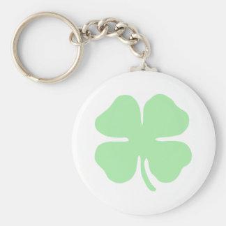 trébol verde claro shamrock png de 4 hojas llavero personalizado