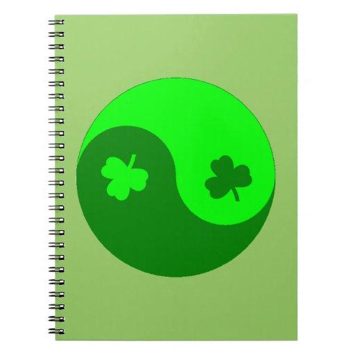 Trébol Yin Yang Libretas Espirales