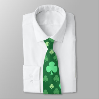 Tréboles afortunados corbatas