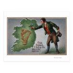 Tréboles de ofrecimiento del irlandés a Irlanda Tarjetas Postales