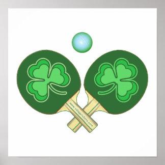 Tréboles del ping-pong poster