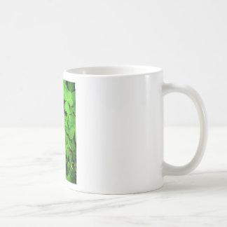 tréboles - encanto afortunado taza básica blanca