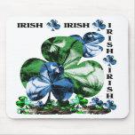 Tréboles irlandeses alfombrilla de ratones